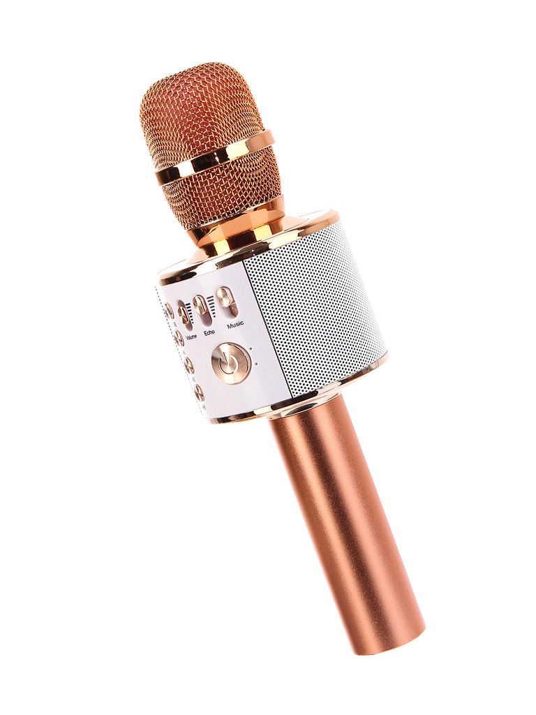 Караоке Handheld KTV Q37RG Pink-Gold