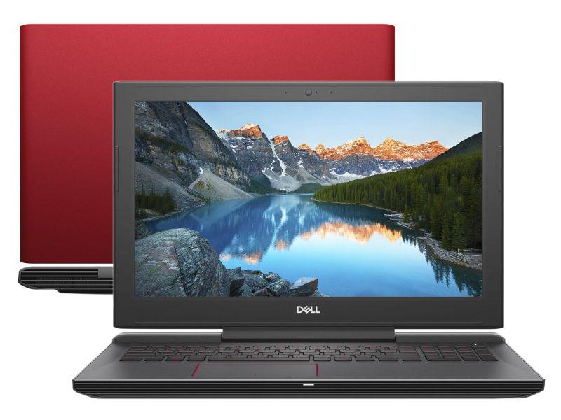 Ноутбук Dell G5-5587 G515-7329 Red (Intel Core i5-8300H 2.3 GHz/8192Mb/1000Gb + 8Gb SSD/nVidia GeForce GTX 1050 4096Mb/Wi-Fi/Bluetooth/Cam/15.6/1920x1080/Windows 10 64-bit)
