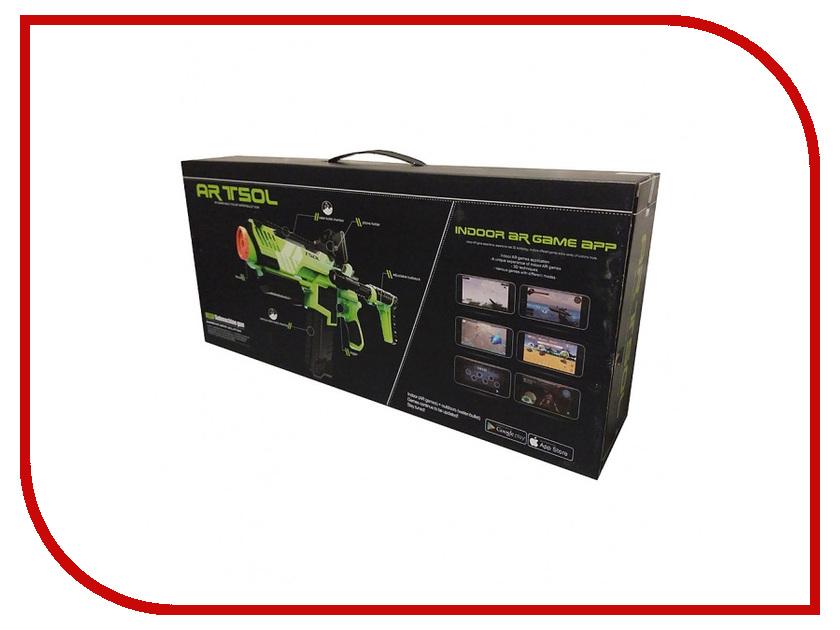 Интерактивная игрушка ARTSOL AR Hand Gun AR-587GR Green блендер aresa ar 1113