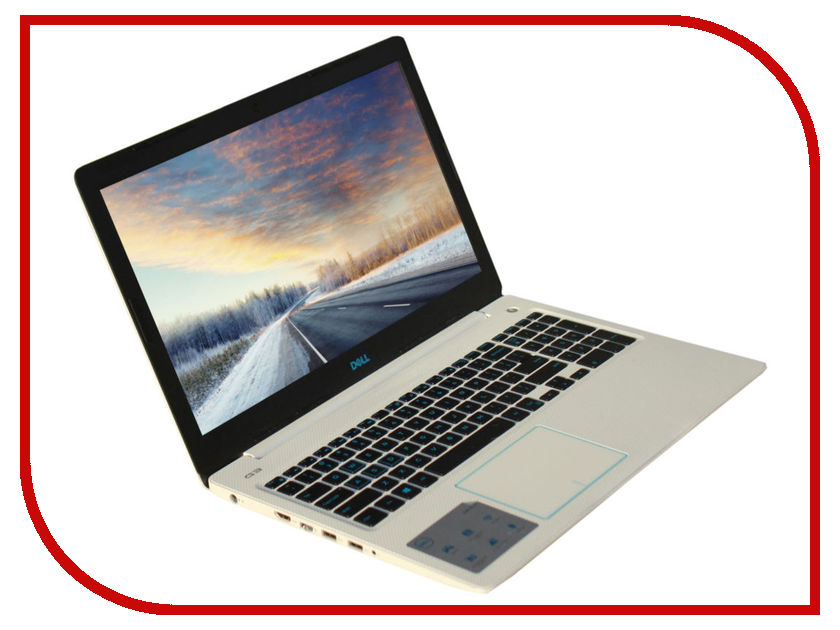 Ноутбук Dell G3-3579 G315-7190 White (Intel Core i5-8300H 2.3 GHz/8192Mb/1000Gb + 128Gb SSD/nVidia GeForce GTX 1050 4096Mb/Wi-Fi/Bluetooth/Cam/15.6/1920x1080/Linux) g315 7190