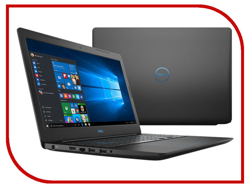 Ноутбук Dell G3-3579 G315-7145 Black (Intel Core i5-8300H 2.3 GHz/8192Mb/256Gb SSD/nVidia GeForce GTX 1050 4096Mb/Wi-Fi/Bluetooth/Cam/15.6/1920x1080/Windows 10 64-bit) сумка puma puma pu053bwutg79