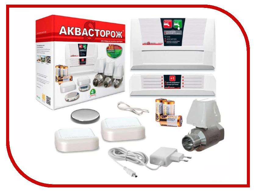 Система контроля протечки воды Аквасторож Классика Радио Pro 1x25 ТН26