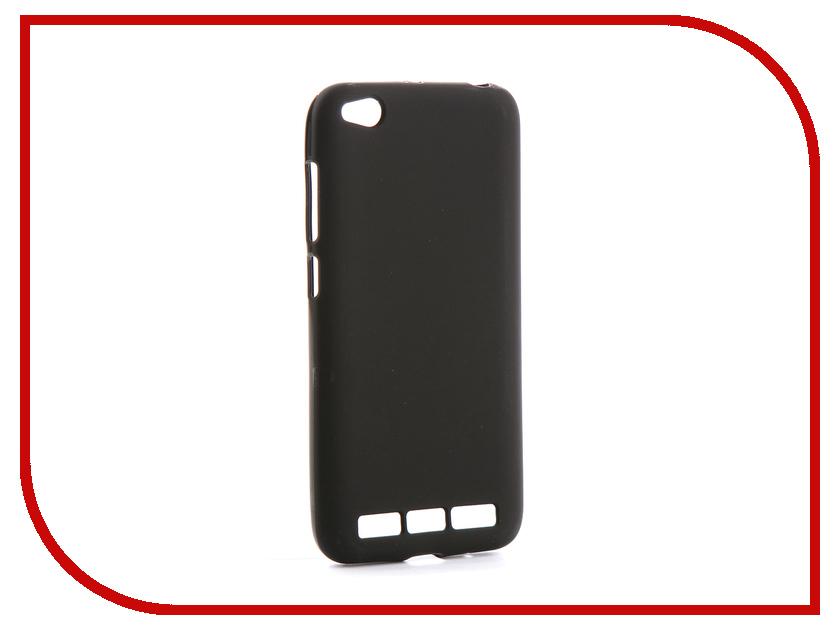 Аксессуар Чехол для Xiaomi Redmi 5A Svekla Silicone Black SV-XIRED5A-MBL цена