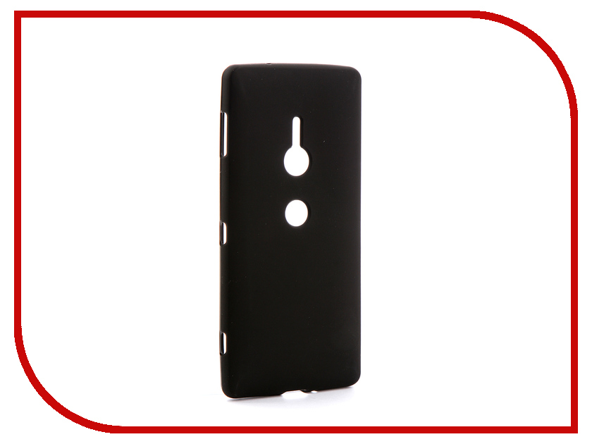 Аксессуар Чехол для Sony Xperia XZ2 H8216/8276/8266/8296 Svekla Silicone Black SV-SOH8216-MBL