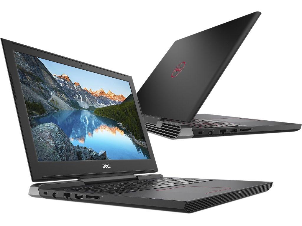 Ноутбук Dell G5-5587 G515-7459 Black (Intel Core i7-8750H 2.2 GHz/16384Mb/1000Gb + 128Gb SSD/nVidia GeForce GTX 1060 6144Mb/Wi-Fi/Bluetooth/Cam/15.6/1920x1080/Linux) g515 7459