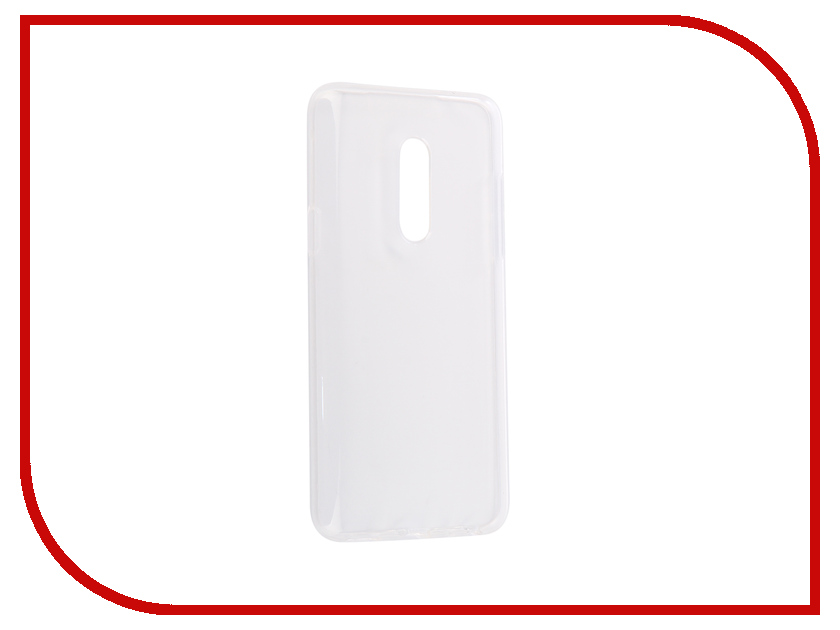 Аксессуар Чехол для Meizu 15 Svekla Silicone Transparent SV-MZ15-WH цена