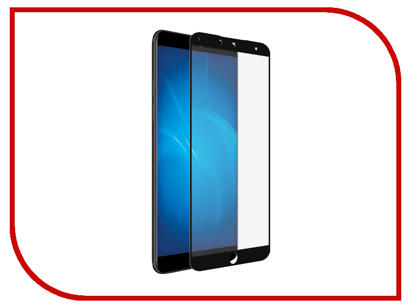 Аксессуар Защитное стекло для Meizu 15 Plus Svekla Full Screen Black ZS-SVMZ15P-FSBL for lenovo zuk z2 lcd screen display with touch screen digitizer panel glass assembly black white replacement parts free shipping