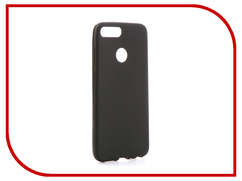 Аксессуар Чехол для Huawei P Smart Svekla Silicone Black SV-HWPSMT-MBL datacard 535000 003 ymckt ribbon datacard cp80 card printer ribbon ymckt color ribbon