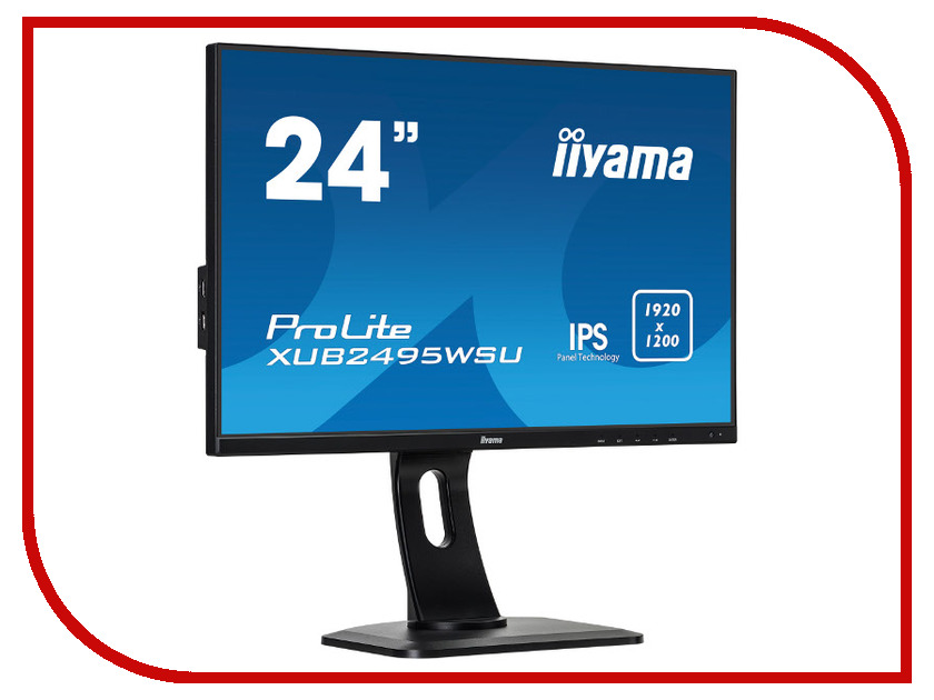 Монитор iiyama XUB2495WSU-B1 iiyama xub2792qsu b1 black монитор