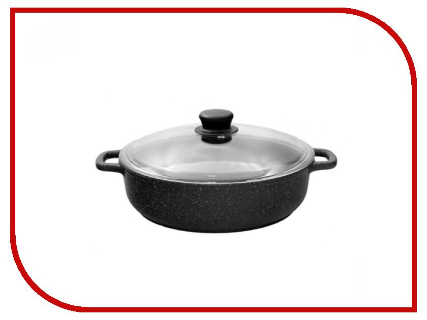 Кастрюля-жаровня Традиция Гранит 28cm ТГ9283