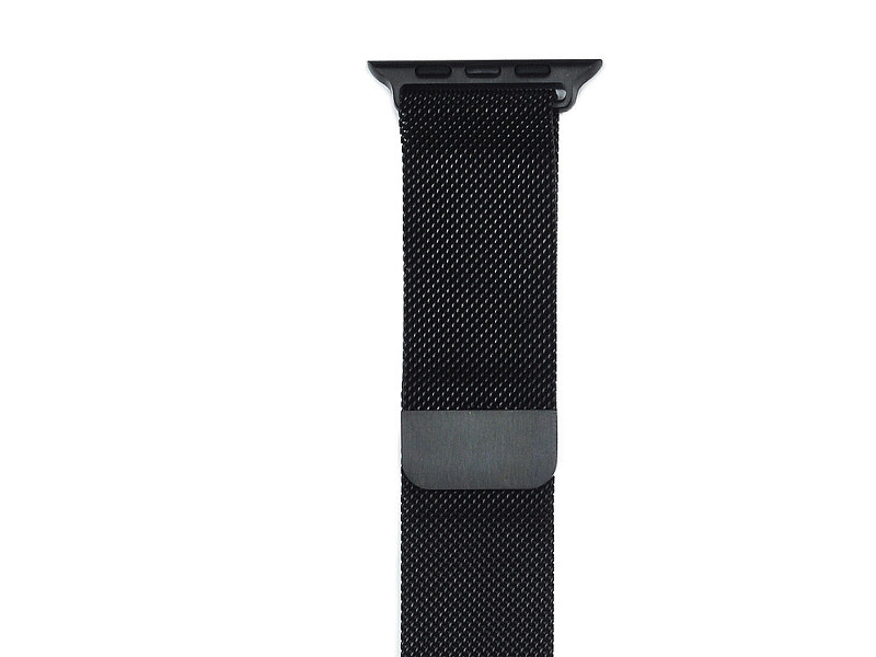 Аксессуар Ремешок Gurdini Milanese Loop для APPLE Watch 42mm Space Black 904817