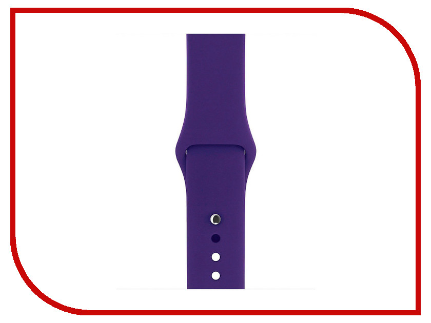 Аксессуар Ремешок Gurdini Sport Silicone для APPLE Watch 42mm Ultra Violet 906172 timberk swh se1 10vu