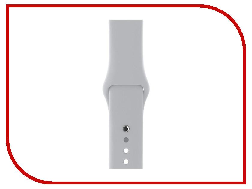 Аксессуар Ремешок Gurdini Sport Silicone для APPLE Watch 42mm Fog 906170 аксессуар ремешок gurdini sport silicone для apple watch 38mm fog 906166
