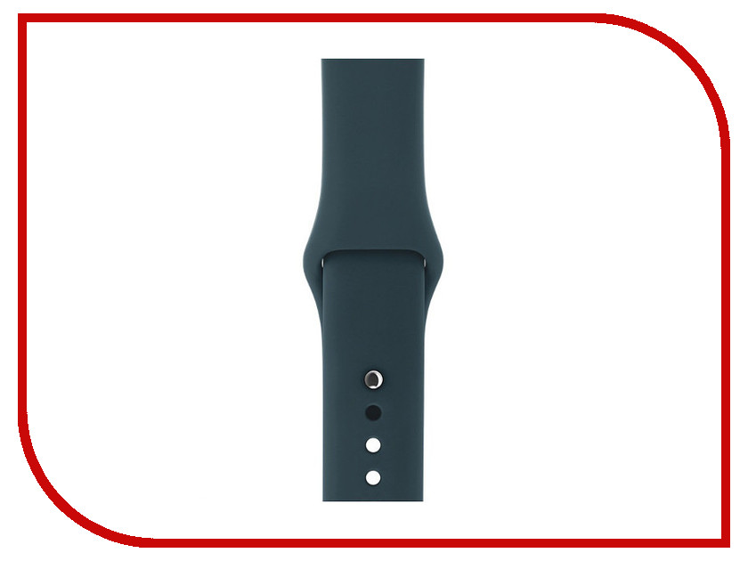 Аксессуар Ремешок Gurdini Sport Silicone для APPLE Watch 42mm Dark Teal 906173 аксессуар ремешок gurdini sport silicone для apple watch 38mm fog 906166