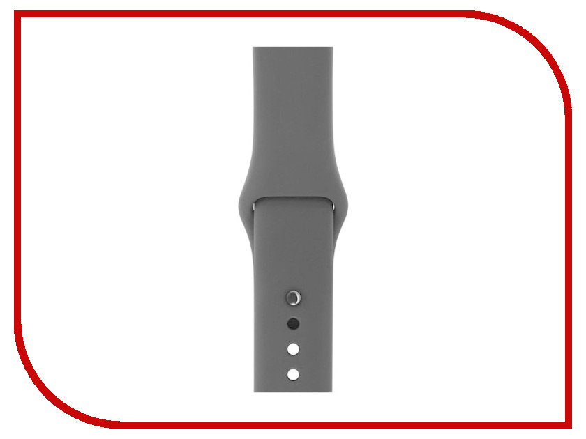 Аксессуар Ремешок Gurdini Sport Silicone для APPLE Watch 42mm Black 905024 мнямс мнямс консервы рагу по ланкаширски куриное филе с травами для собак 200 г х 6 шт