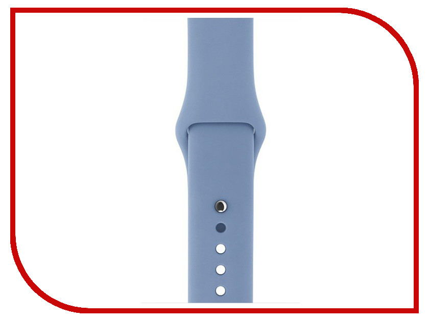Аксессуар Ремешок Gurdini Sport Silicone для APPLE Watch 42mm Azure 906171 аксессуар ремешок gurdini sport silicone для apple watch 42mm azure 906171