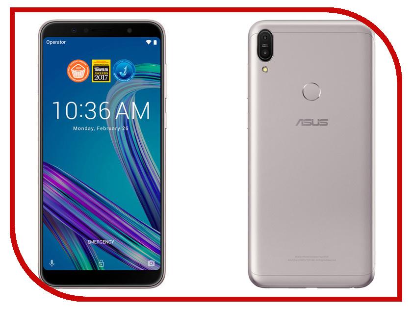 Сотовый телефон ASUS ZenFone Max Pro ZB602KL 3/32GB Silver сотовый телефон senseit t100 black