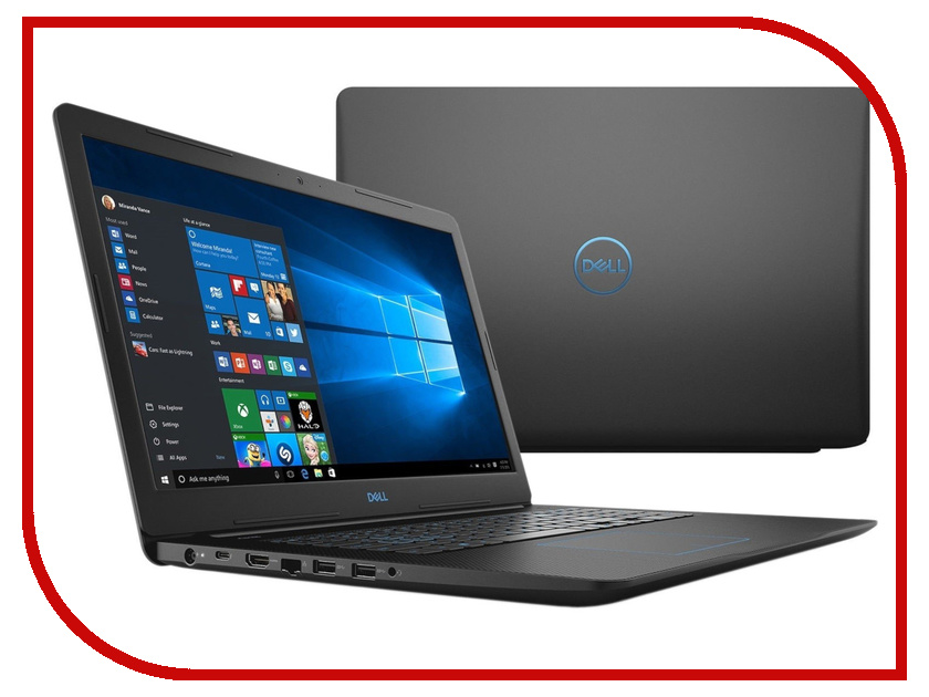 Ноутбук Dell G3-3779 G317-7671 Black (Intel Core i7-8750H 2.2 GHz/16384Mb/2000Gb + 256Gb SSD/nVidia GeForce GTX 1060 6144Mb/Wi-Fi/Bluetooth/Cam/17.3/1920x1080/Windows 10 64-bit) ноутбук asus n552vw fy251t 90nb0an1 m03130 intel core i7 6700hq 2 6 ghz 16384mb 2000gb dvd rw nvidia geforce gtx 960m 2048mb wi fi cam 15 6 1920x1080 windows 10 64 bit