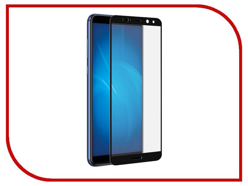Аксессуар Противоударное стекло для Huawei Nova 2i Innovation 2D Black 12106 цены онлайн