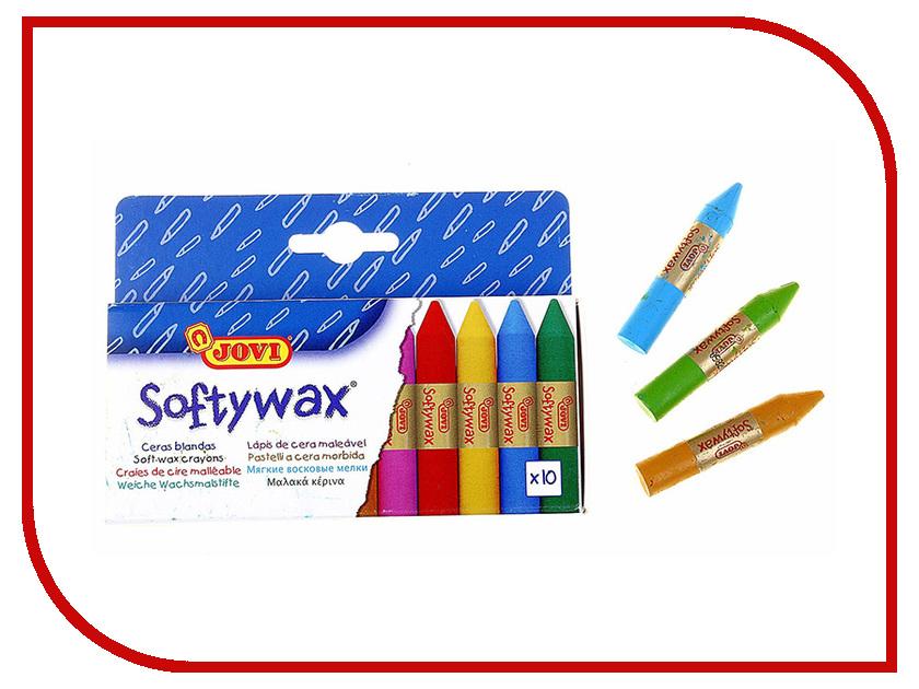 Восковые мелки JOVI 10 цветов 930/10 карандаши восковые мелки пастель jovi карандаши пластиковые круглые 12 цветов