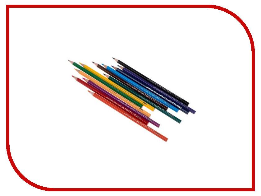 Карандаши цветные JOVI 12 цветов 730/12 карандаши восковые мелки пастель jovi карандаши пластиковые круглые 12 цветов