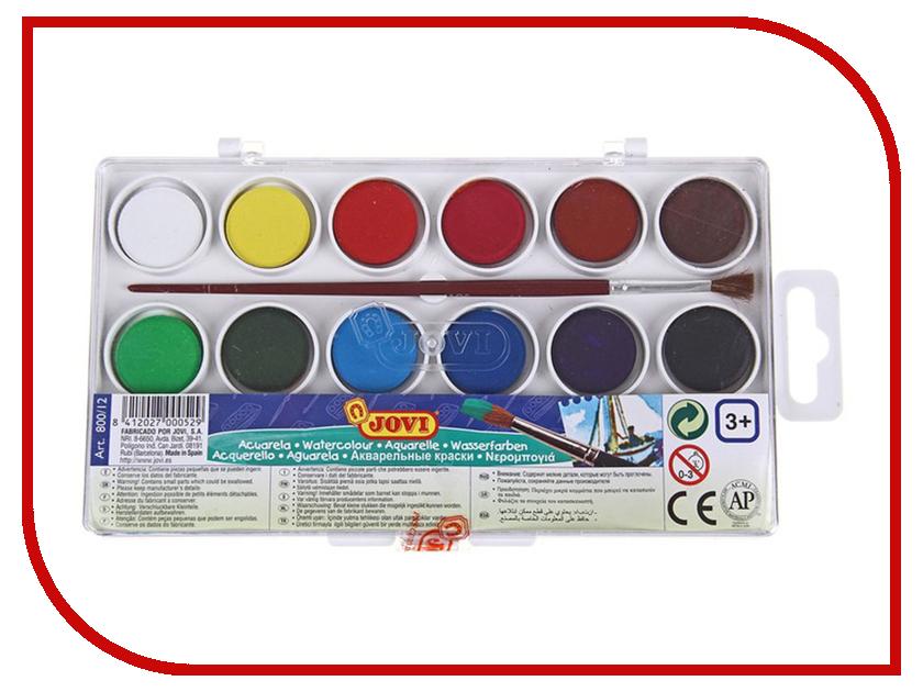 Краски акварельные JOVI 12 цветов 800/12 12 1 inch 800 600lq121s1lg55