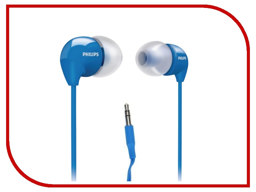 Наушники Philips SHE3590 Blue наушники philips she3590 синий
