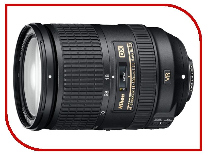 Объектив Nikon Nikkor AF-S 18-300 mm F/3.5-5.6 G ED DX VR nikon nikon af s nikkor 28mm f 1 8g фиксированный фокус широкоугольный объектив
