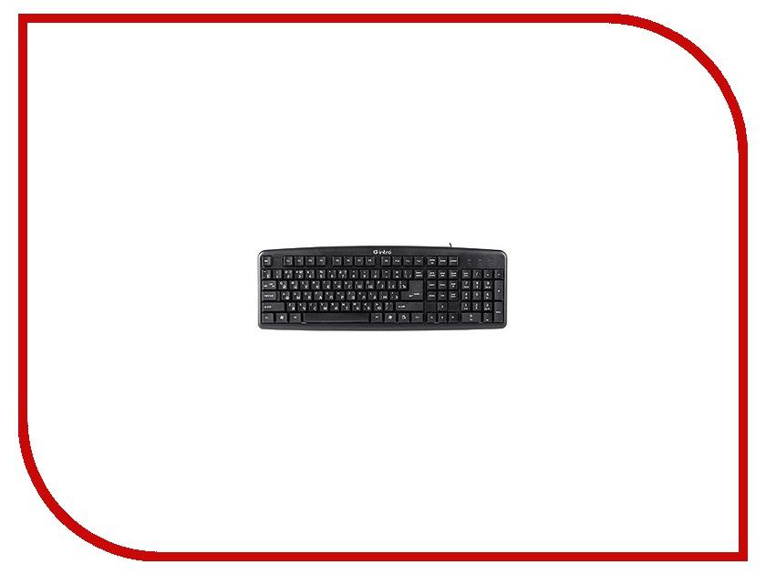 Клавиатура Intro KU101 USB Black