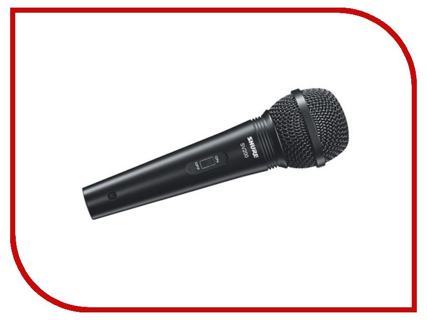 Микрофон Shure SV200-A микрофон shure pga58 qtr e