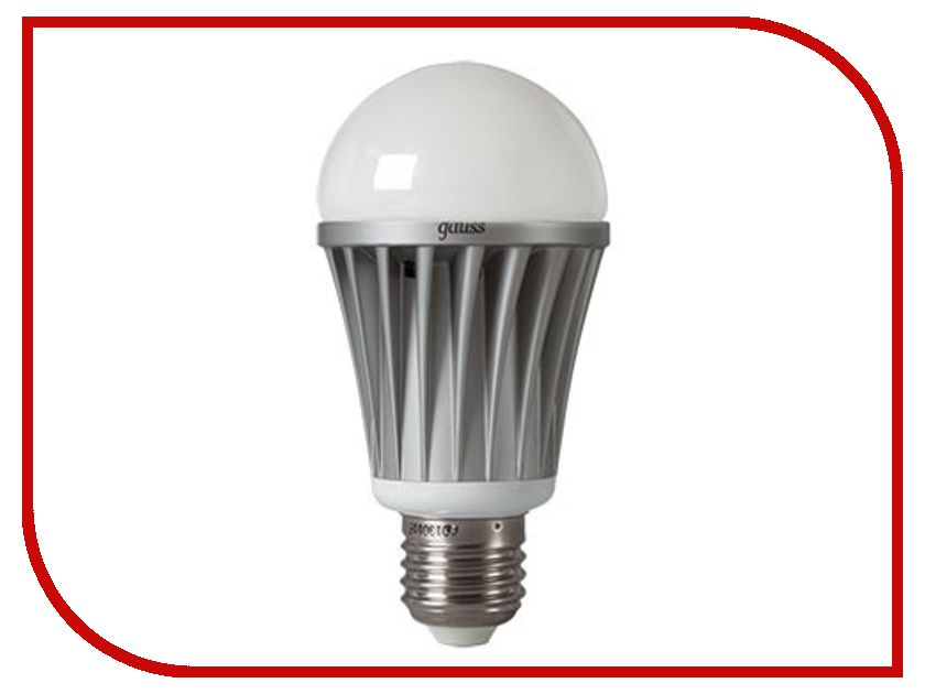 Лампочка Gauss 5W E27 220V 2700K AD103004 лампочка gauss mr16 gu5 3 5w 2700k 101505105