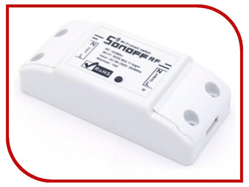 Выключатель Sonoff RF выключатель sonoff th16a датчик th в комплекте