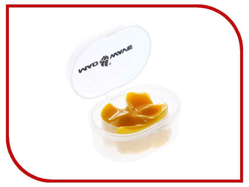 Беруши Mad Wave Ear Plugs Silicone Yellow M0714 01 0 06W