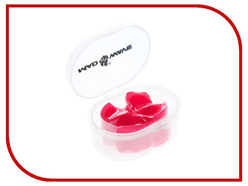 Беруши Mad Wave Ear Plugs Silicone Pink M0714 01 0 11W silicone swimming ear plugs