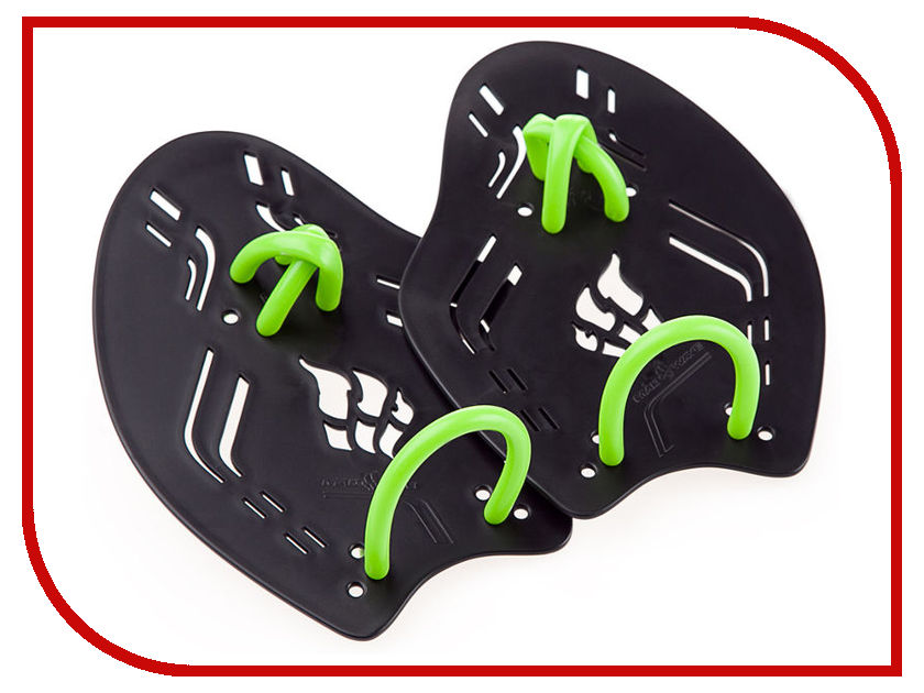 Лопатки Mad Wave Trainer Paddles Extreme L Black-Green M0749 01 6 01W утяжелитель mad wave weight trimmer 2x1kg black m1351 01 2 01w