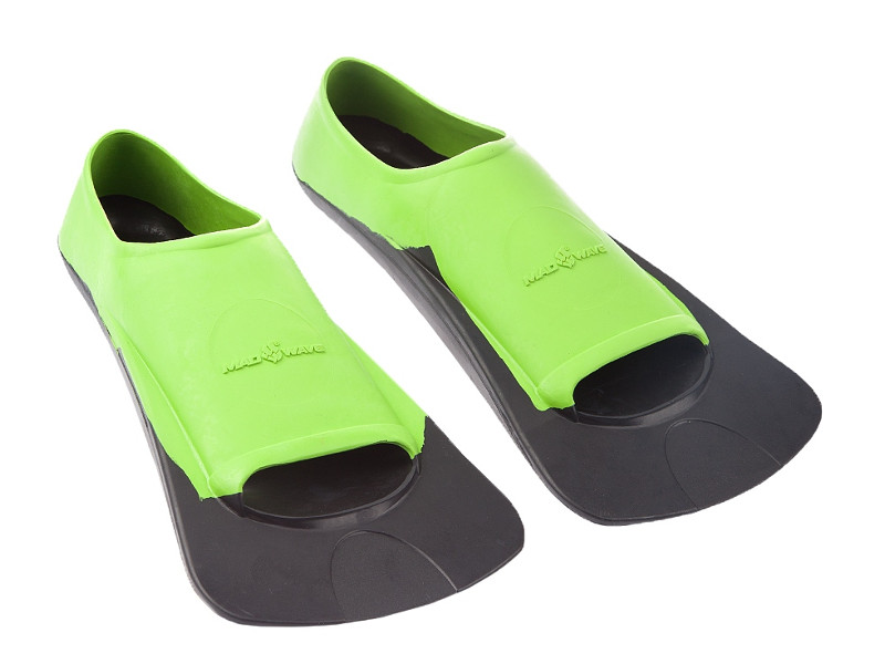 Ласты Mad Wave Fins Training II Rubber 32-34 Green-Black M0749 03 1 06W