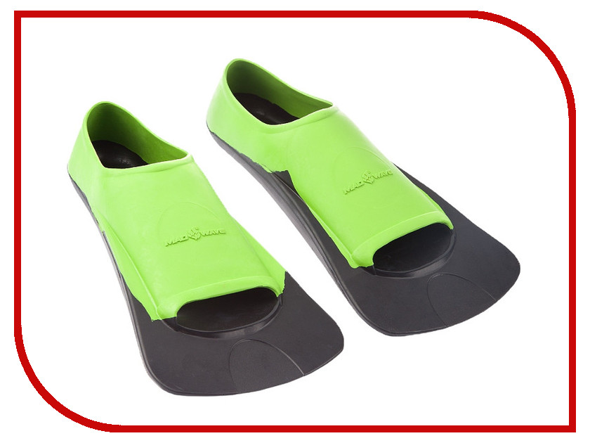 Mad Wave - Ласты Mad Wave Fins Training II Rubber 36-38 Green-Black M0749 03 3 06W
