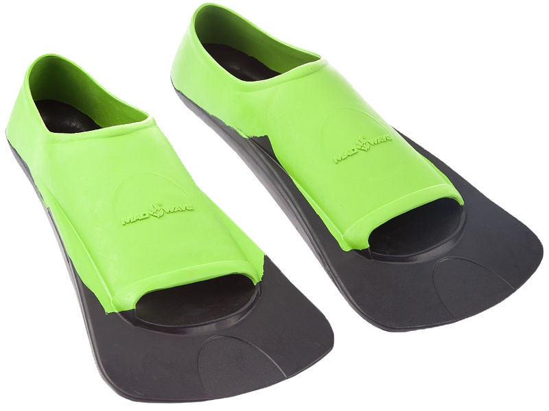Ласты Mad Wave Fins Training II Rubber 44-46 Green-Black M0749 03 7 06W