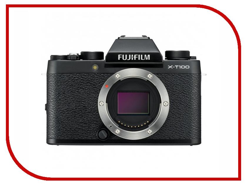 Фотоаппарат Fujifilm X-T100 Body Black фотоаппарат fujifilm x t100 body black