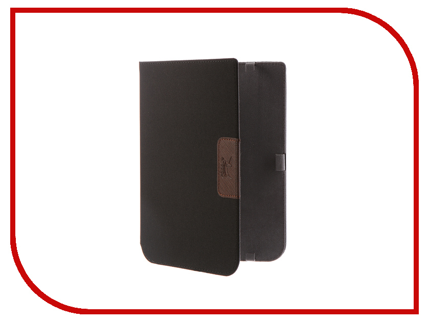 Аксессуар Чехол for PocketBook 740 Snoogy Cloth Black glare free screen protector with cleaning cloth for iphone 3g