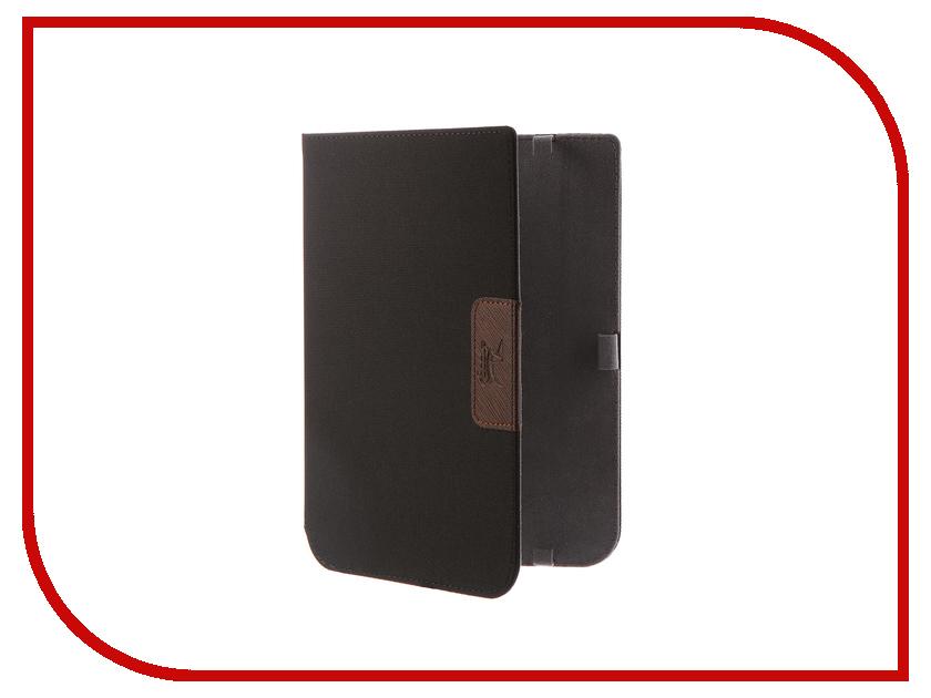 Аксессуар Чехол for PocketBook 740 Snoogy Cloth Black simple black cloth choker necklace for women