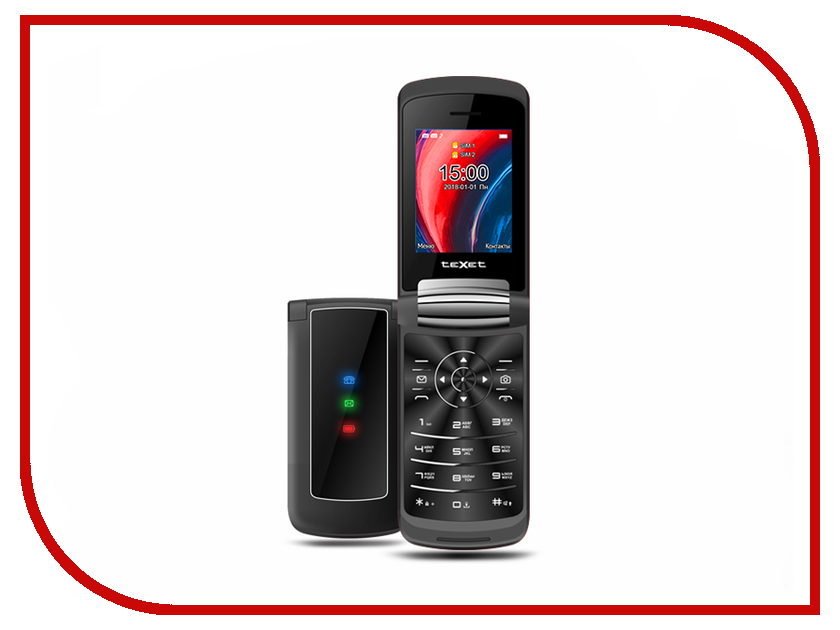 Сотовый телефон teXet TM-317 Black сотовый телефон texet tm 404 gold