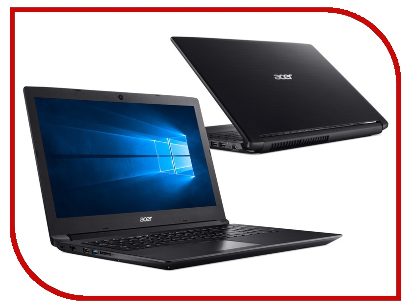 Ноутбук Acer Aspire 3 A315-41-R6SD NX.GY9ER.006 (AMD Ryzen  2200U .5GHz Dual/6144Mb/1000Gb/ Radeon Vega /LAN/Wi-Fi/Cam/./1920x1080/Windows  Home 64-bit)