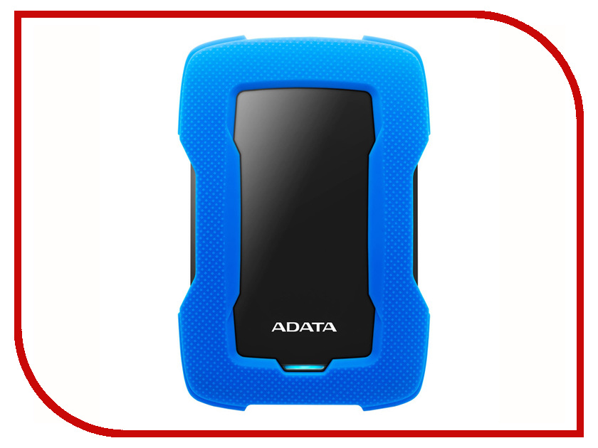 Жесткий диск A-Data DashDrive Durable HD330 4Tb Blue AHD330-4TU31-CBL