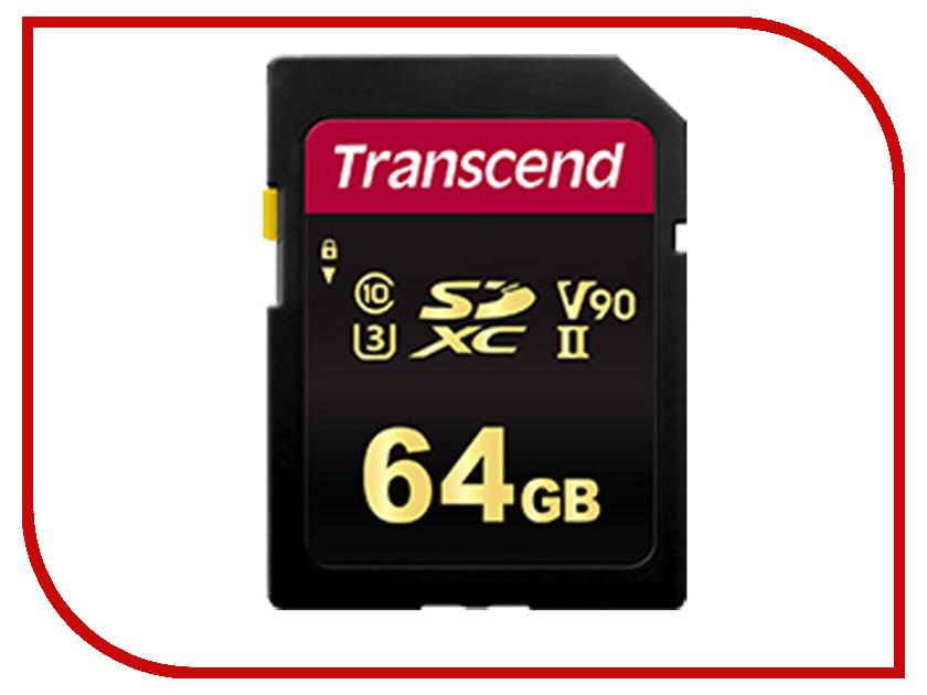 Карта памяти 64Gb - Transcend 700S SDXC/SDHC TS64GSDC700S