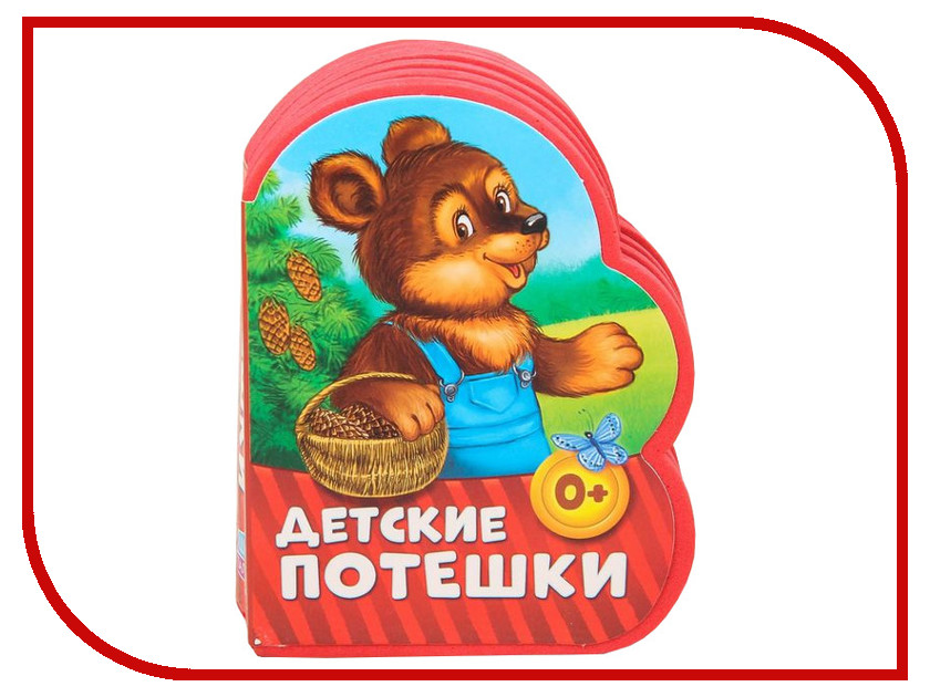 Обучающая книга Буква-ленд EVA Детские потешки 2303613