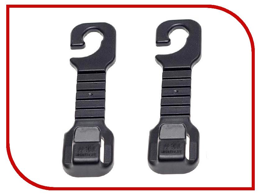 Вешалка на подголовник СИМА-ЛЕНД 2шт Black 769063 держатель сима ленд black 3145280