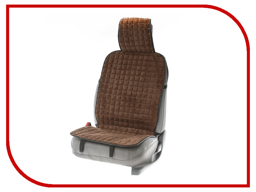 Накидка на сиденье СИМА-ЛЕНД 132x48x3cm Brown 3122071