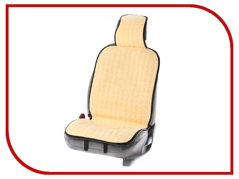 Накидка на сиденье СИМА-ЛЕНД 132x48x3cm Beige 3122070 накидка на сиденье nova bright fusion 46862 beige