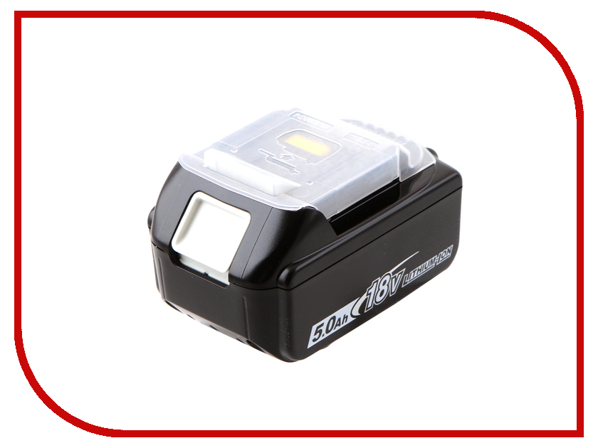 Аккумулятор Makita BL1850 Li-ion 18V 5Ah 197280-8 5000mah rechargeable lithium ion replacement power tool battery packs for makita 18v bl1830 bl1840 bl1850 lxt400 194205 3 p25